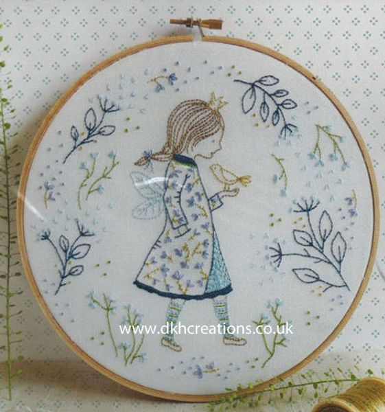 Winter Fairy Embroidery Kit